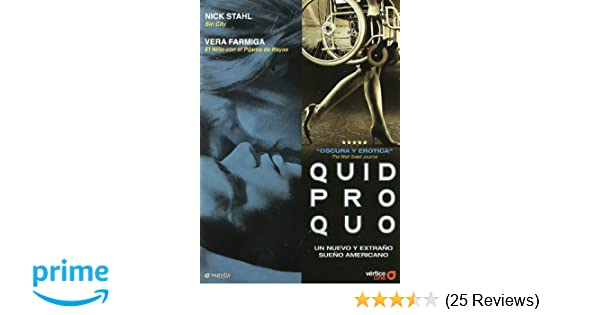 Amazon.com: Quid Pro Quo (Import Movie) (European Format - Zone 2) [2008]: Movies & TV