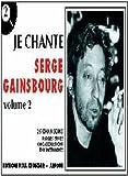 Partition : Je chante Gainsbourg, volume 2