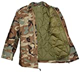 m65 field jacket with liner - TRU-SPEC Men's M-65 Field Jacket with Liner, X-Large, Woodland