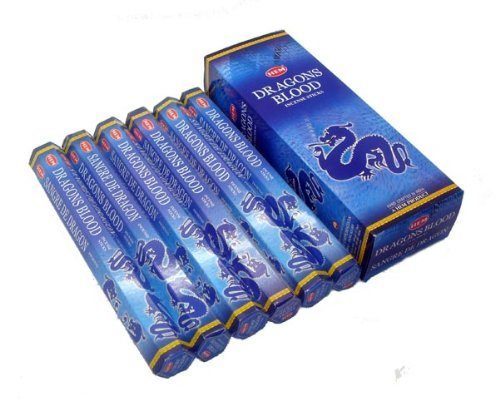 Incense Blue - Hem Dragons Blood Blue, 120 Sticks Box