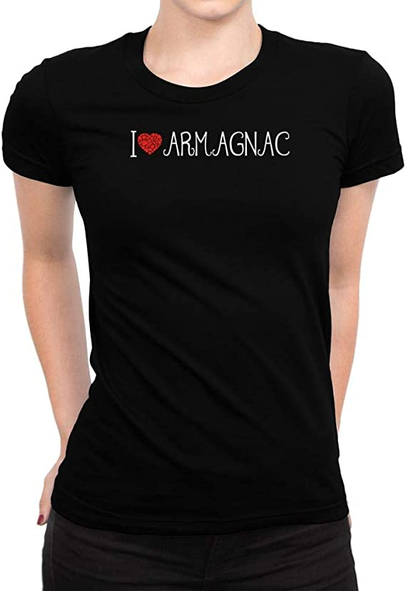 Idakoos I Love Armagnac Cool Style Women T-Shirt