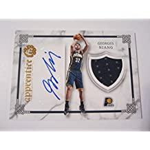 fan products of 2016-17 Panini Excalibur Apprentice Signature Shield #28 Georges Niang Auto Card - Panini Certified - Autographed Tennis Cards