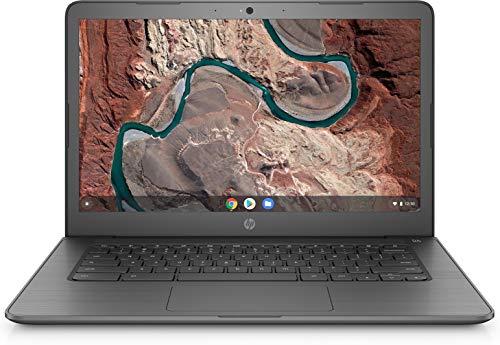HP Chromebook 14-inch Laptop  AMD Dual-Core A4-9120C Processor, 4 GB SDRAM, 32 GB eMMC Storage, Chrome OS (Gray)