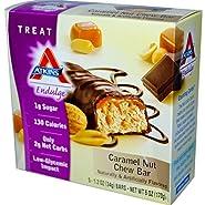 Atkins, Endulge, Caramel Nut Chew, 5 Bars, 1.2 oz (34 g) Each(Pack of 1)