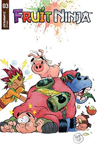 Amazon.com: Fruit Ninja #3 eBook: Nate Cosby, Scott Brown ...