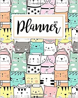 2019 Planner For Kids 2019 Planner Weekly And Monthly For Kids