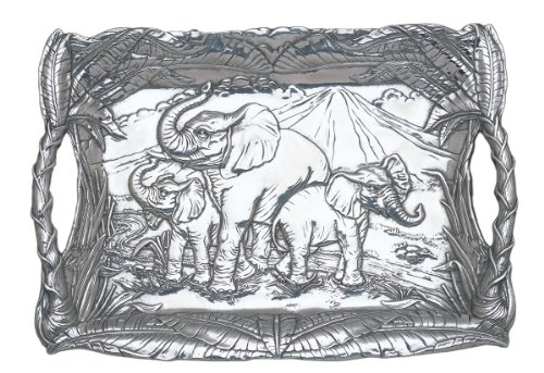 Arthur Court Elephant Clutch Tray by Arthur Court Designs