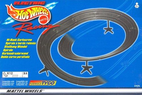1998 TYCO MATTEL Slot Car HI BANKED CORKSCREW Spirale Curve Track 37676