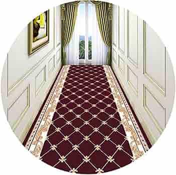 Zyfdt سجاد عداء طويل ممر السجاد رواق عداء السجاد الشمال الحد الأدنى نمط السجاد قابل للقطع مثالية للممرات والسلالم أحجام متعددة بلونين اللون B الحجم 1 6x3m Amazon Ae