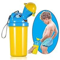 ONEDONE Portátil Bebé Niño Orinal Orinal Inodoro de emergencia para viajes en auto de acampada y Entrenamiento con orinal para niños (niño)
