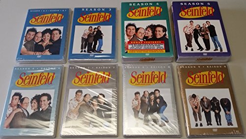 Seinfeld Collection: The Complete Seasons 1-9 (Set Seinfeld Box Dvd)