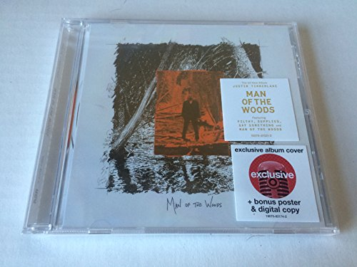 Price comparison product image Man Of The Woods CD + Bonus Poster & Digital Copy 2017 TARGET EXCLUSIVE