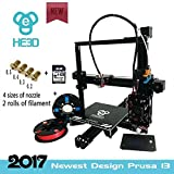 [New] 2017 Upgraded HE3D EI3 3D Single Extruder Printer DYI Kit, Reprap Prusa i3 High Accuracy with Heated Print Bed Hoyi Sunway Limited Printers