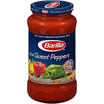 Barilla Pasta Sauce, Sweet Peppers, 24 oz