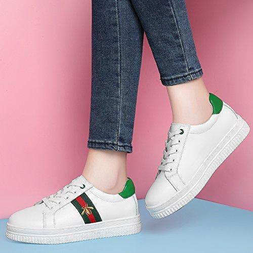 Schuhe amp;G NGRDX Green White Freizeitschuhe Damenschuhe naYHY0t