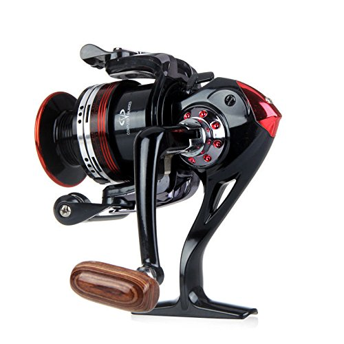 Happy Hours For Freshwater / Saltwater LK3000 12+1 Ball Bearing Saltwater/Freshwater Fishing Spinning Reel Left/Right Hand Handle 5.2:1 , Line Capacity 6/210 8/170 10/140(lb/yd)