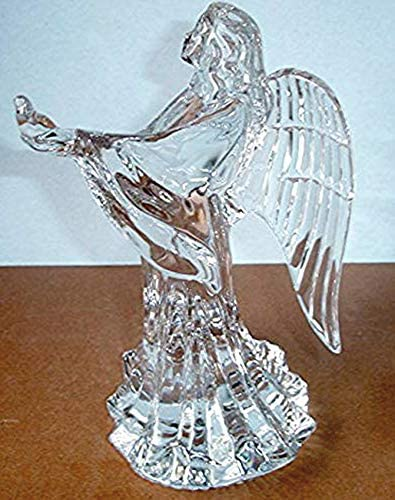 Lenox Irish Spring Prayer for Peace Angel with Dove Crystal Figurine Made in Ireland New