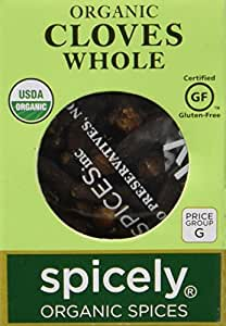 Spicely Organic Cloves Whole - Compact