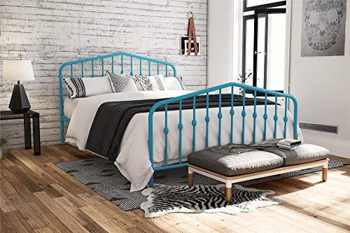 (Novogratz 4176629N Bushwick Bed, Full, Blue )