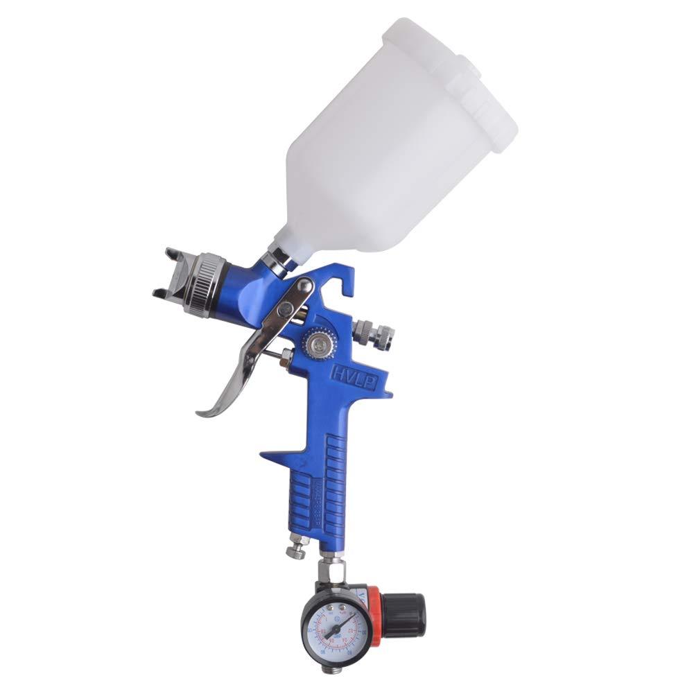 Gunpla HVLP Pistolet à Peinture Aerographe Pneumatique Professionnel avec buse de 1, 4 mm