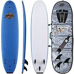 Performance Focused Soft Top Surfboards: All 7' Ruccus, 8' Verve, & 8'8 Heritage Surfboards are custom designed to be beginner friendly, durable, and performance focused. Check other boards and you'll find NOBODY offers the high quality s...