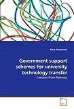 Government Support Schemes for University Technology Transfer, Einar Rasmussen, 3639217675