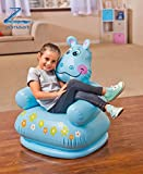 Zomaark Intex Inflatable Animal Air Chair For 3-8 Years Kids (Blue)