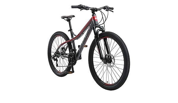 BIKESTAR Bicicleta de montaña Hardtail de Aluminio, 21 Marchas ...