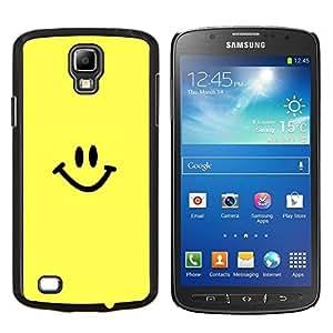 LECELL--Funda protectora / Cubierta / Piel For Samsung Galaxy S4 Active i9295 -- Cara feliz del smiley --