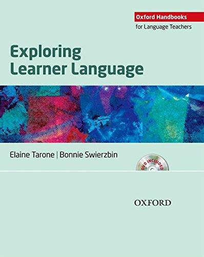 - Exploring Learner Language (Oxford Handbooks for Language Teachers Series)