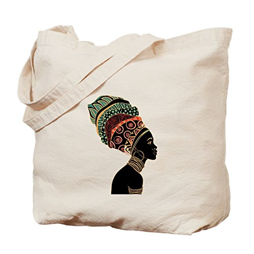 African Natural Canvas Woman Tote Bag Bag Cloth CafePress Shopping pOxgnqwHgd