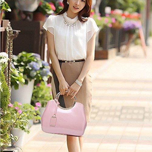 à Sacs tout Les Fourre Sacs Féminine à Femmes Cuir Qualité De Bandoulière YUHEQI Sac Pink Mode Pour Faux Main cxW7na5vw