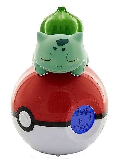 Teknofun Pokémon - Despertador Digital con difusor de luz ...