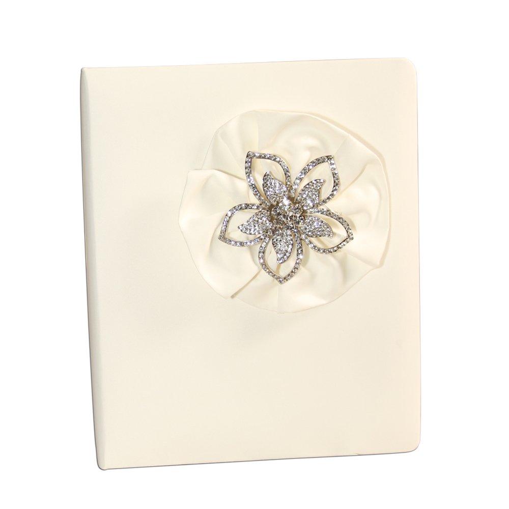 Ivy Lane Design Verona Wedding Memory Book, Ivory