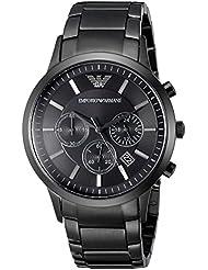 Emporio Armani Mens AR2453 Dress Black Mesh Watch