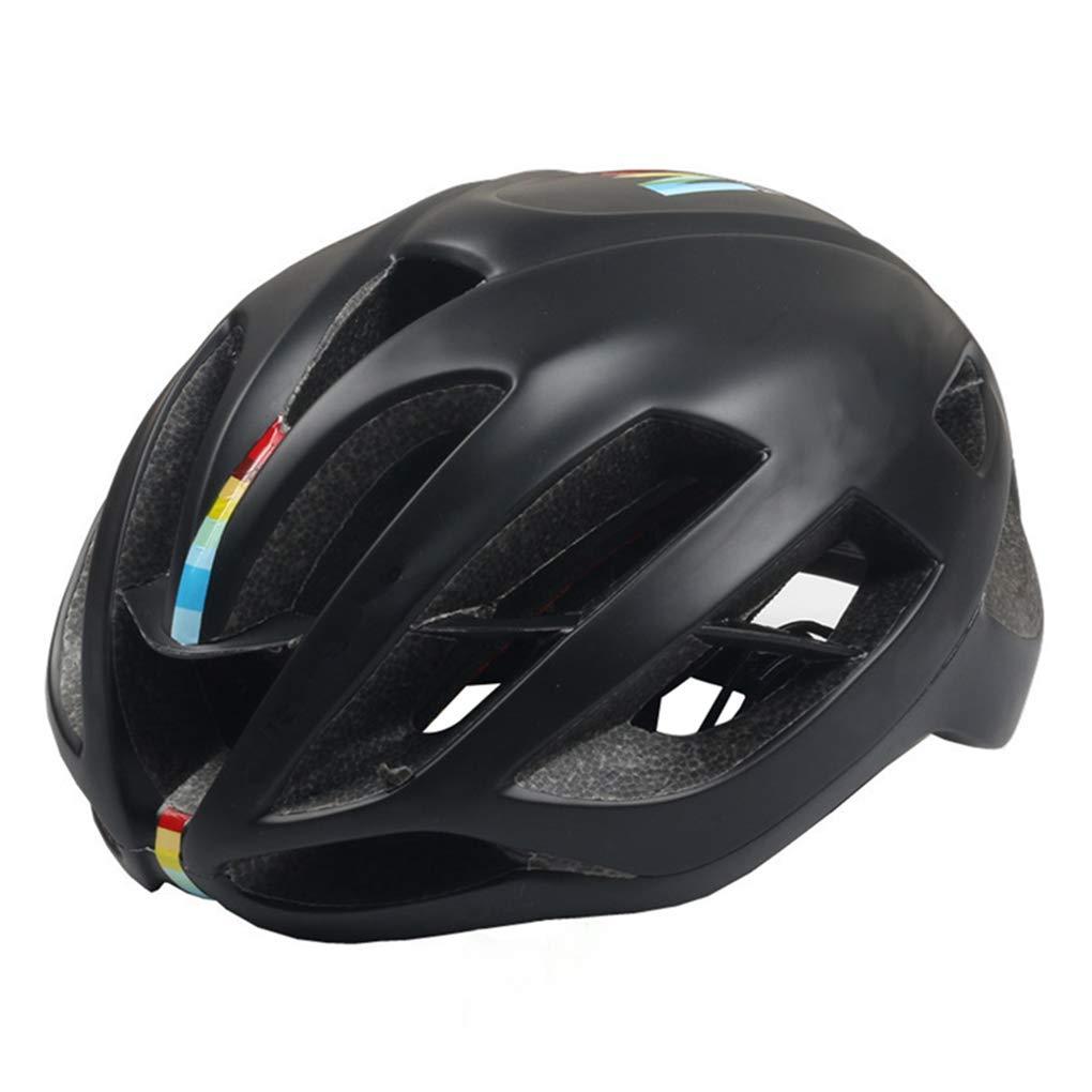 MixBlack Medium Bicycle Helmet Bike Cycling Ultralight Youth Helmet Breathable Sports Adult Road Helmet for Men Women Teenager