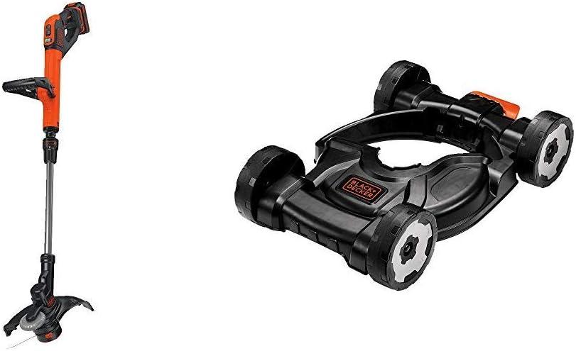 BLACK+DECKER 20V MAX String Trimmer, 2-Speed, 12-Inch (LST522) : Garden & Outdoor