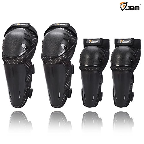 JBM¨ Professional Guards pads for knee Elbow Shin at Motocross Cycling Motorbike Motorbicycle MTB Motorcycle racing