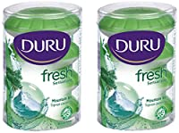 Duru Fresh Sensations Body Wash, Mountain Air, 2 Count