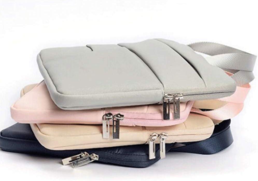 EFGIU PU Laptop Bag Business Documents Portable Computer Bag Briefcase MAC 12 inch Air13 Pro15.6 Men and Women