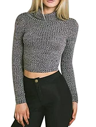 cropped sweater bare