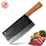 DENGJIA KNIFE Ultra-Sharp Composite High Carbon Steel Handmade Forged Chef Knife and Vegetable