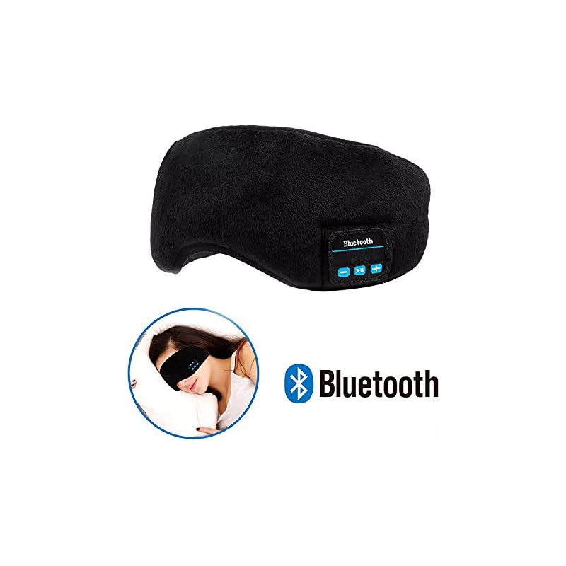 Bluetooth Sleeping Eye Mask Wireless Hea