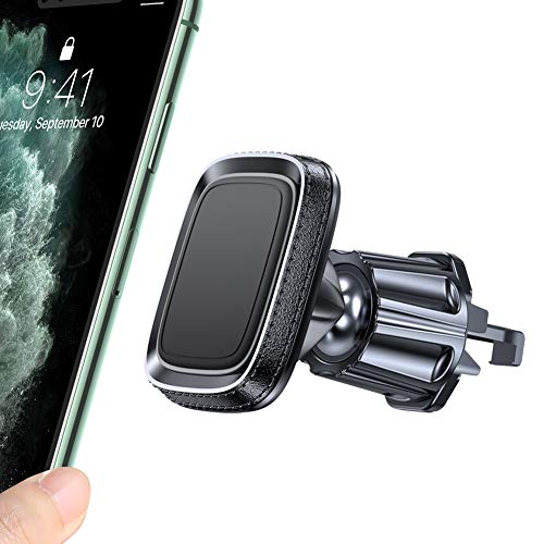 🥇 Miracase – Soporte magnético para teléfono móvil para coche con 6 imanes fuertes para iPhone SE/11/11 Pro/XS/XR