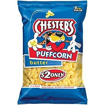 Chester's Puffcorn Butter Puffed Corn Snacks 3.5 Oz ()