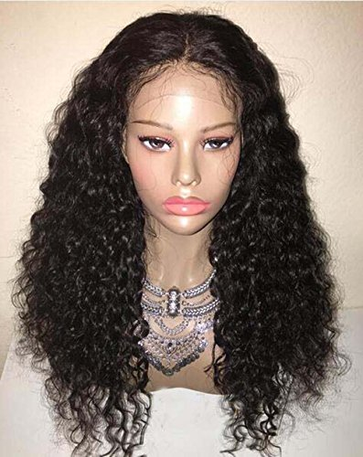 LUFFYWIG-Virgin-High-Ponytail-Lace-front-Wig-Peruvian-Lace-Front-Curly-Human-Hair-Wigs-with-Baby-Hair