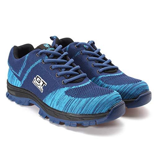 Zapatillas Aplastantes Calzado Anti Blue Trabajo Hombres Y Botas Deporte Punta Con Fhcgmx Livianas Acero Para De OPFwfFTxqU