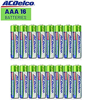 Image of ACDelco AAA Insta-Use Rechargeable Batteries, Precharged, 16 Count AAA