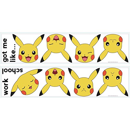 RoomMates Pokemon XY Peel And Stick Wall Decals