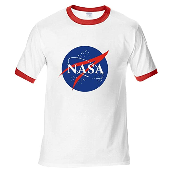 Brands In Limited NASA Insignia Logo, Camiseta para Hombre
